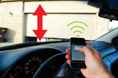 Smartphone Controllable Garage Door. U0027
