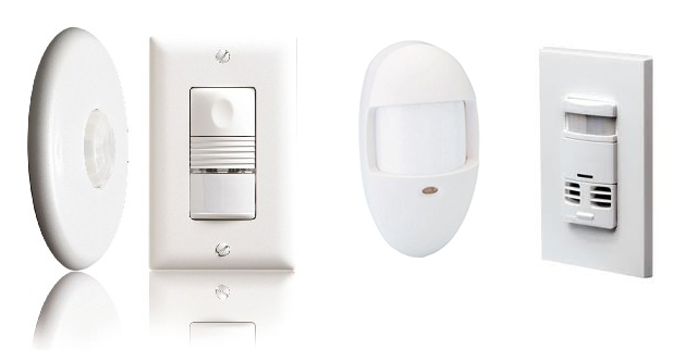a variety of motion sensors